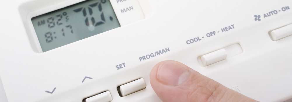 digital thermostat program manual